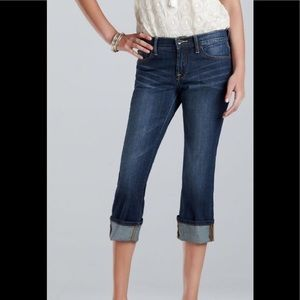 Lucky Brand Easy Rider Crop 8/29